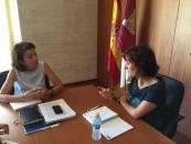 Reunión de la consejera de Educación con los sindicatos ANPE y STE