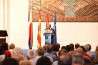El Presidente en la toma de posesión del delegado de servicios en Molina de Aragón