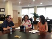 La consejera de Economía, Empresas y Empleo se reúne con el secretario regional de CCOO en su ronda de encuentros con los agentes sociales