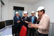 El presidente García-Page visita las instalaciones de Alvinesa Alcoholera Vinícola