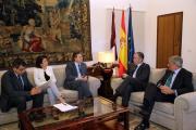 El presidente García-Page se reúne con el consejero delegado de Ferrovial