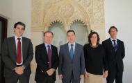 El presidente García-Page se reúne con la dirección de Janssen
