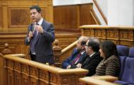 """El presidente García-Page propone a los grupos parlamentarios rechazar clara y conjuntamente """"la desvergüenza"""" del trasvase Tajo-Segura"""