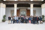El presidente García-Page recibe en audiencia a alumnos del IES Blas de Prado de Camarena
