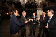 Emiliano García-Page visita la Bodega de Mora del Grupo Osborne