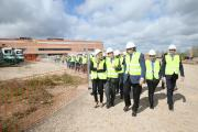 El presidente García-Page visita las obras del nuevo Hospital General de Toledo