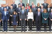 Emiliano García-Page, asiste a la reunión extraordinaria del Pleno de la Comisión Nacional para la Conmemoración del IV Centenario de la muerte de Miguel de Cervantes