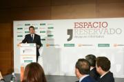 Desayuno informativo del presidente de las Cortes regionales