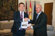 Reunión con el presidente del TSJ de Castilla-La Mancha