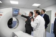 Visita al nuevo TAC del Hospital Universitario 'Nuestra Señora del Perpetuo Socorro