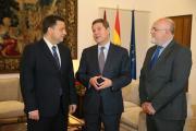 Reunión con el alcalde de Albacete