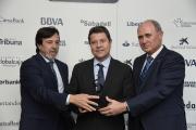 El presidente García-Page recoge una mención especial de los XIX Premios 'San Juan' de la Confederación de Empresarios de Albacete