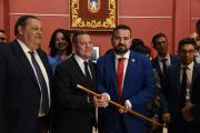 Constitución de la nueva Corporación Municipal de La Roda (Albacete)