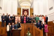 Emiliano García-Page Sánchez Sesión constitutiva de la nueva legislatura de las Cortes de CLM