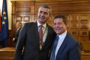 El presidente García-Page asiste a la sesión constitutiva de la Diputación de Toledo
