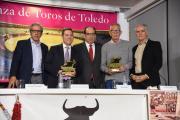 Homenaje de la peña taurina 'El Trapío' al periodista José Ponos