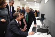 Inauguración de la Oficina de Empleo y el Centro de formación de la cerámica y el vidrio de Talavera de la Reina (I)
