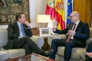 Reunión con el embajador de Turquía en España, Cihad Erginay