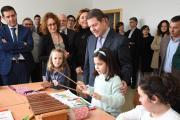 Inauguración de las nuevas instalaciones del CEIP 'Ildefonso Navarro' de Villamalea