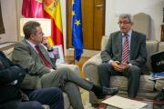 Reunión con el presidente de UNICEF Comité Castilla-La Mancha