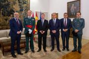 Reunión con el nuevo Jefe de la segunda Zona de la Guardia Civil de Castilla-La Mancha