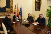 Reunión por videoconferencia con representantes de sindicatos agrarios