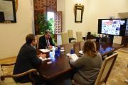 Videoconferencia con los gerentes de los hospitales y coordinadores del servicio de Urgencias de los centros dependientes del SESCAM