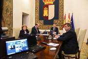 Videoconferencia con los obispos de las diócesis de la región