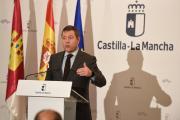 García-Page en el acto de primera piedra en Parcisa en Villarrobledo