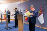 Encuentro sobre la despoblación con los presidentes de Castilla y León y Aragón