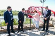 Inauguración la rehabilitación del Puente Reina Sofía en Talavera de la Reina
