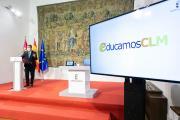"Nueva plataforma educativa ""EducamosCLM"" (Presidente)"
