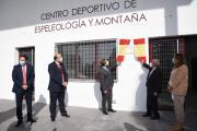 Inauguración del Centro de Espeleología de Chillarón