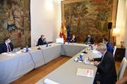 Reunión de trabajo con el ministro de Transportes, Movilidad y Agenda Urbana