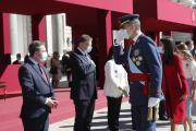 El presidente García-Page brinda a los servidores públicos el ejemplo de Castilla-La Mancha en Europa en la lucha contra la COVID-19