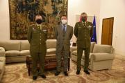 Recepción al nuevo delegado de Defensa en Castilla-La Mancha