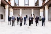 Reunión de trabajo con representantes de las principales entidades financieras de la región