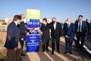 Inauguración del refuerzo del firme de la Carretera CM-3119 (Presidente)