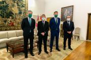 Reunión con los responsables de Eurocaja Rural