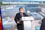 Visita a las obras del nuevo Hospital Universitario de Cuenca (Presidente)
