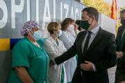 Inauguración de la reforma del hospital de Hellín