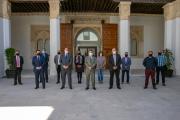 Consejo de Gobierno abierto a representantes del sector del taxi de Castilla-La Mancha