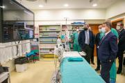 Vista a la sala de Radiología Intervencionista del Hospital Universitario de Guadalajara