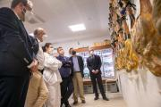 Visita a la empresa de 'Jamones Duríber' de Guadalajara