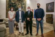 El presidente de Castilla-La Mancha recibe al nuevo secretario general de UGT