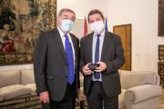 Reunión con el Fiscal Jefe del Tribunal Superior de Justicia de Castilla-La Mancha