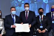 Entrega e intervención en el debate de la Declaración Conjunta de las comunidades autónomas y ciudades españolas sobre protección de las indicaciones geográficas industriales y artesanales