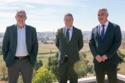 Inauguración del nuevo depósito de abastecimiento de agua de Mondéjar