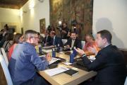 Consejo de Gobierno abierto con la Plataforma de la Dependencia