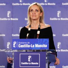 Rueda de prensa de Carmen Casero